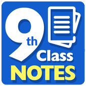 9th Class Notes icon