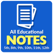 All Class Exams Notes icon