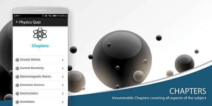Physics MCQs screenshot 1