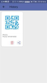 Scan Me - QR Code Scanner & Generator screenshot 5