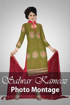 Girls Salwar Kameez Photomaker poster