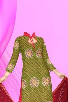 Girls Salwar Kameez Photomaker apk screenshot