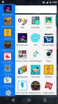 Side Bar captura de pantalla 2