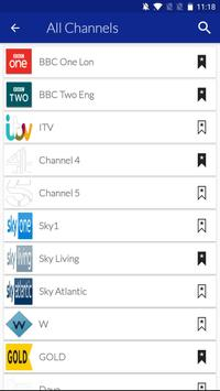 UK Mobile TV Guide cho Android - Tải về APK