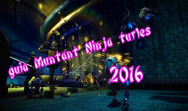 Guide For Mutant Ninja Turtles poster