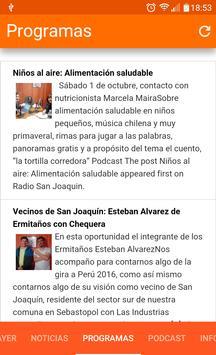 Radio San Joaquin Chile apk screenshot