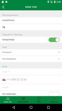 Nuuk Taxi apk screenshot