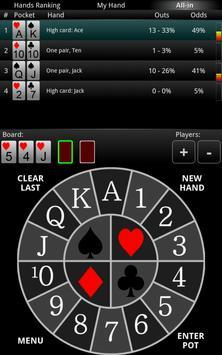 PrOKER: Poker Odds Calc FREE apk screenshot