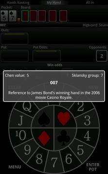 PrOKER: Poker Odds Calc FREE screenshot 4