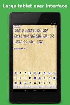 Cryptogram Puzzle Quotes Game syot layar 6