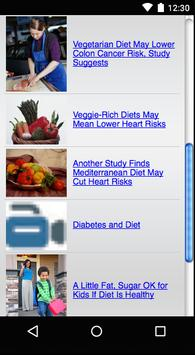 Health Feeds Reader screenshot 2