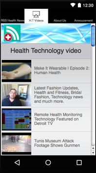 Health Feeds Reader screenshot 7