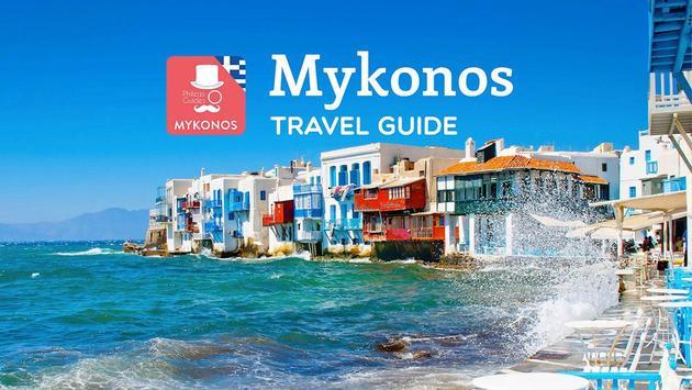 Mykonos Travel Guide, Greece poster