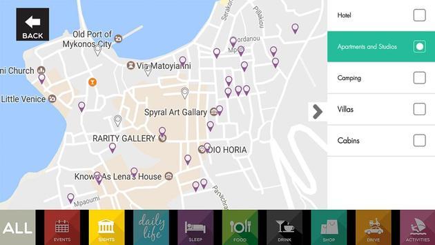 Mykonos Travel Guide, Greece apk screenshot