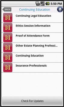 UMHI Heckerling Institute apk screenshot