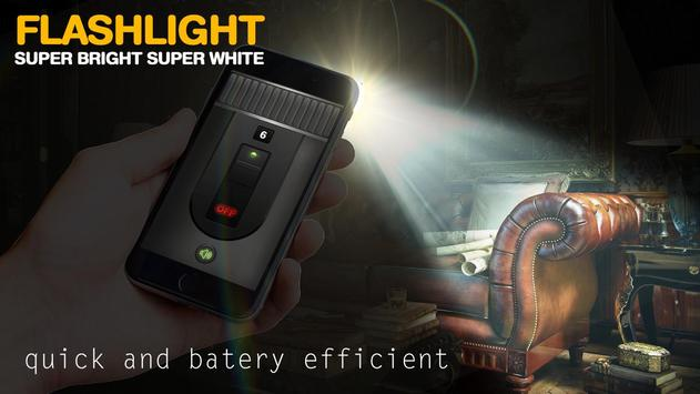 Flashlight Widget - Flashlight On Call and SMS poster