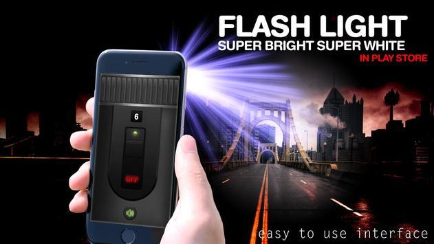 Flashlight Widget - Flashlight On Call and SMS screenshot 1