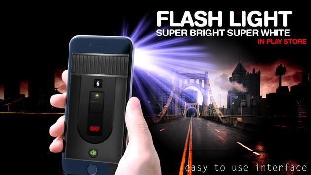 Flashlight Widget - Flashlight On Call and SMS screenshot 6