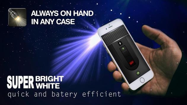 Flashlight Widget - Flashlight On Call and SMS screenshot 7