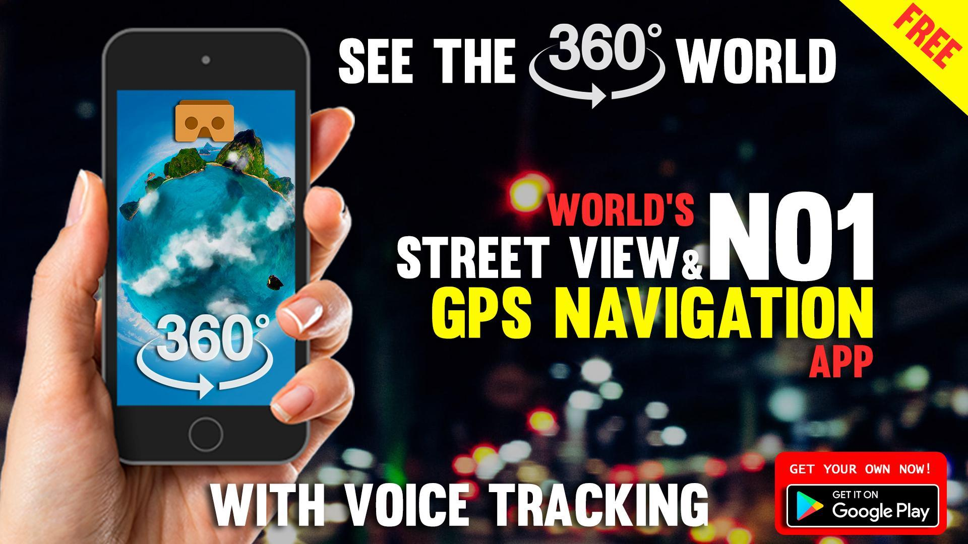 free street view app for android
