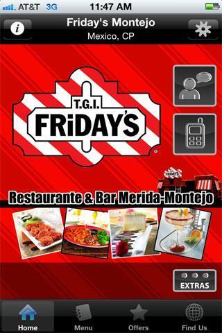 T.G.I. Friday's Montejo poster