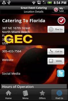 Great Event Catering apk screenshot