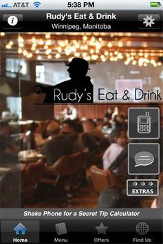 The Rudy's Eat & Drink poster