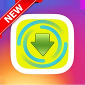 Instadown Photo Video icon