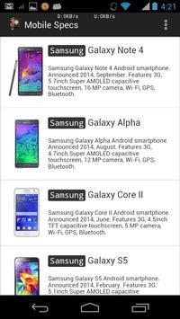 Phone Comparison App screenshot 1
