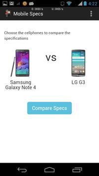 Phone Comparison App screenshot 2