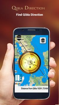 Qibla Direction Finder Compass screenshot 2
