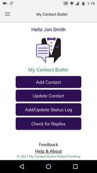My Contact Butler poster
