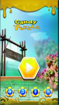 Candy Hexa Block Puzzle! #1 Brain game in 2018 poster