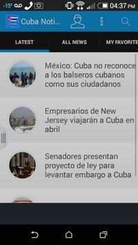 Cuba Noticias poster
