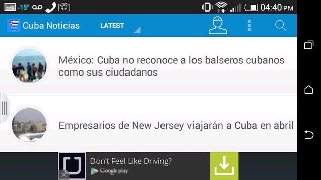 Cuba Noticias apk screenshot