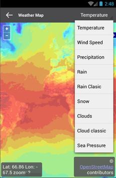 MobiWeather - free android app apk screenshot
