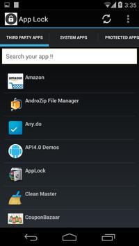 AppLock apk screenshot