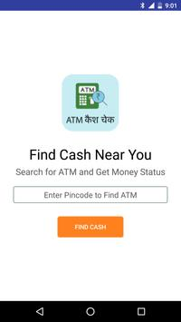ATM Cash / NoCash Check Finder poster