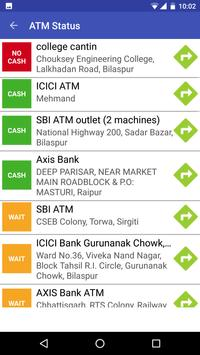ATM Cash / NoCash Check Finder screenshot 2