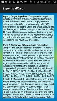 HVAC Superheat Calculator screenshot 7
