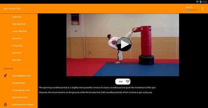 Jeet Kune Do Videos - Offline apk screenshot