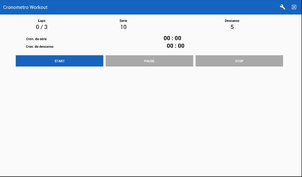 Cronometro Workout apk screenshot