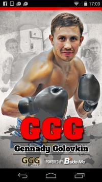 Gennady Golovkin poster