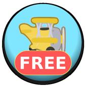 Yellow Plane icon