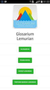Glosarium Lemurian poster