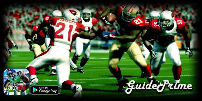 GuidePrime Madden NFL18 poster