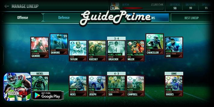 GuidePrime Madden NFL18 screenshot 2