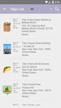 GeoTagger App screenshot 1