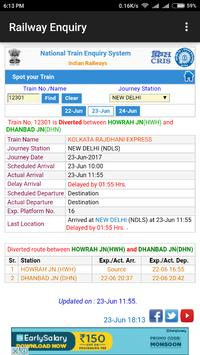 Indian Railway Enquiry App | Live Train Enquiry screenshot 4