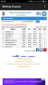 Indian Railway Enquiry App | Live Train Enquiry screenshot 5